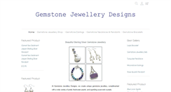 Preview of gemstonejewellerydesigns.co.uk
